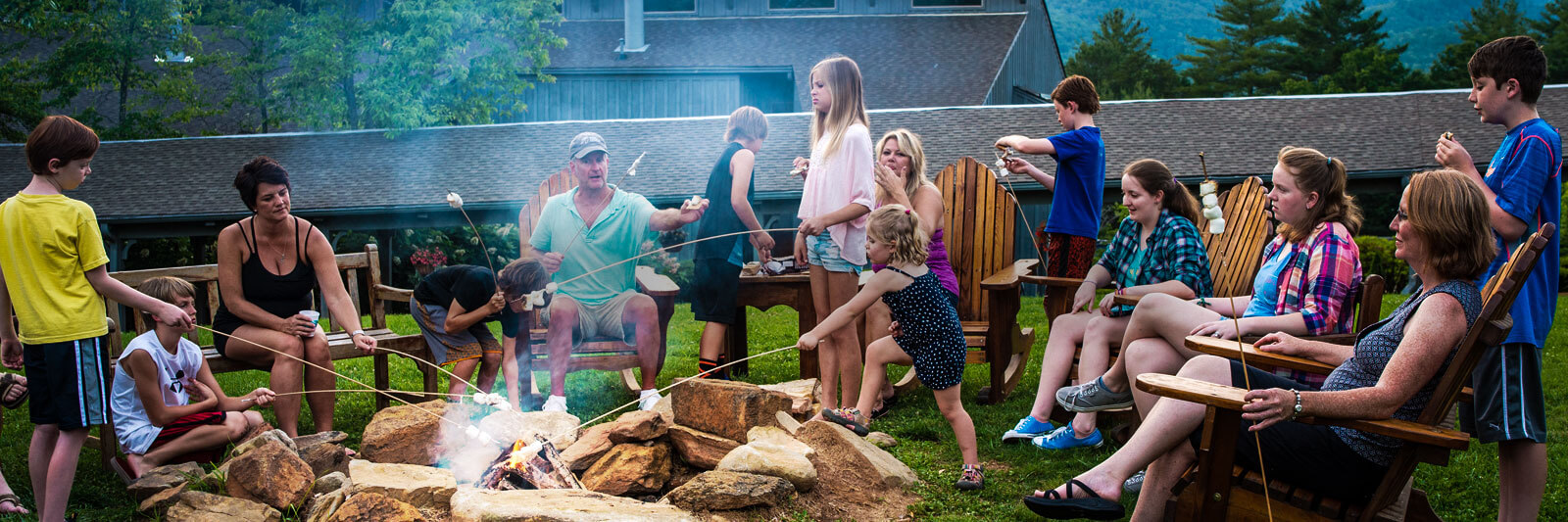 Unicoi Adventure Lodge Adventures Fire Pit Stories 2