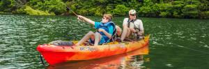 Unicoi Adventure Lodge Adventures Kayak Fishing 1