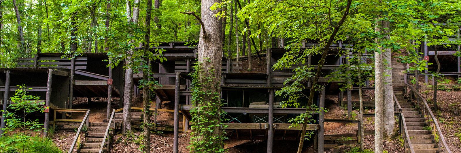 Unicoi Adventure Lodge Adventures Primitive Camping 2