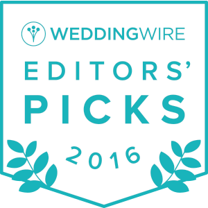 Wedding Wire 2016 Editor's Pick