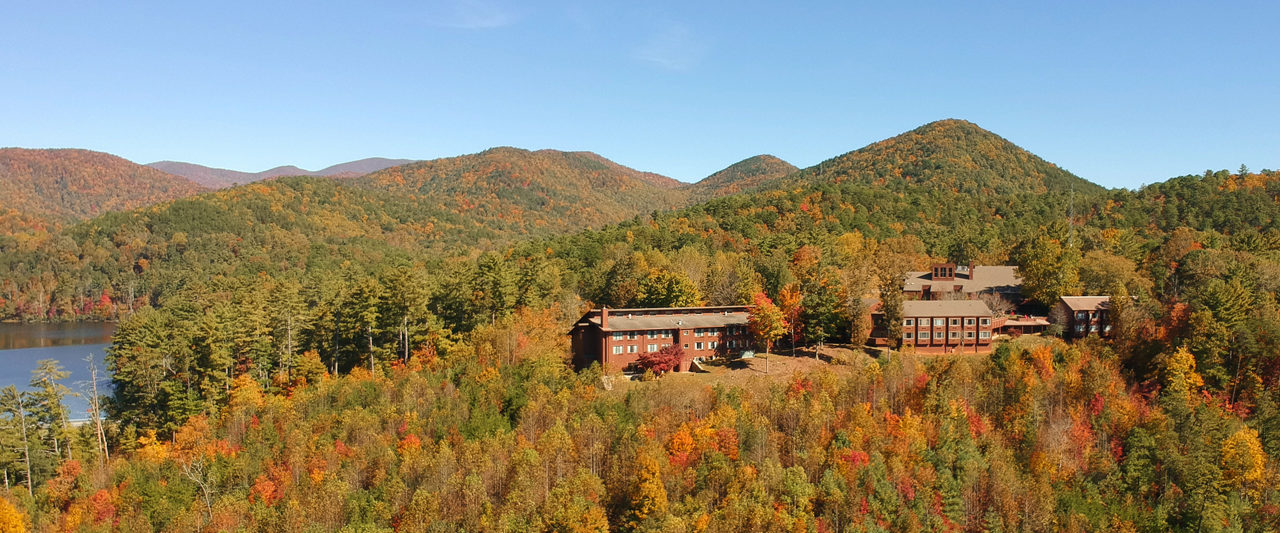 Unicoi State Park Lodge in the fall