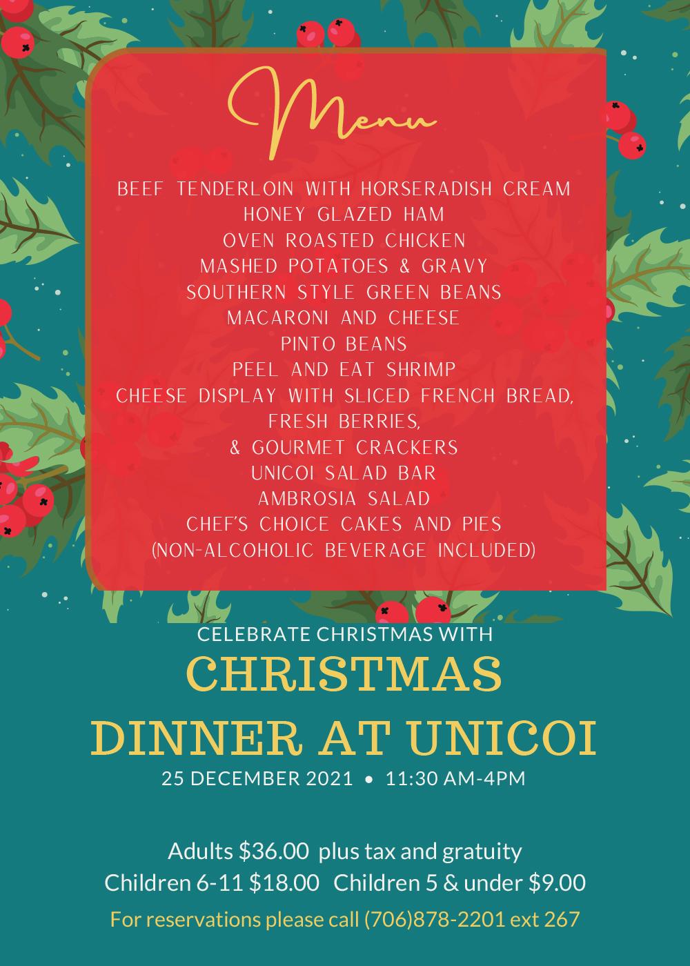 Christmas at Unicoi