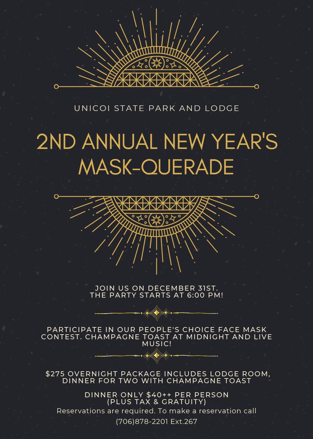 Unicoi New Years Flyer